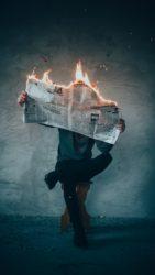 PR-Crisis-Burning-Newspaper
